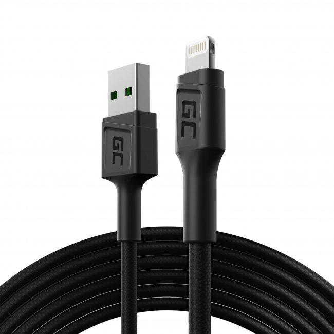 Cabo USB-A - Apple Lightning 200cm