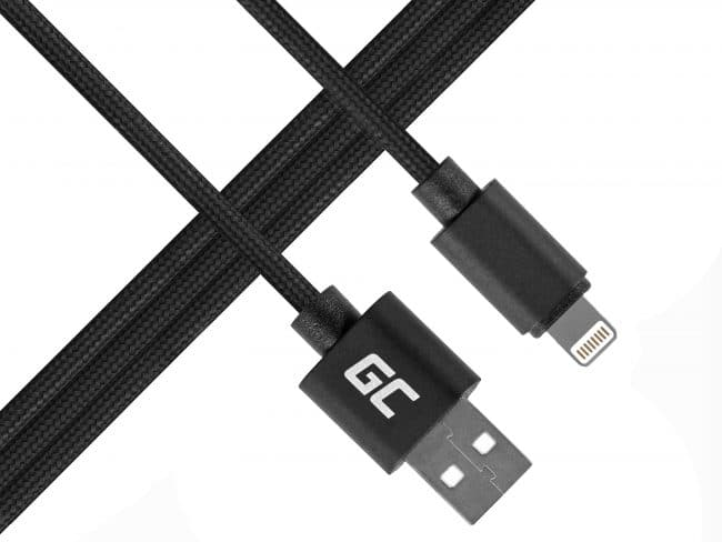 Cabo Lightning - USB para iPhone iPad Nylon 100cm