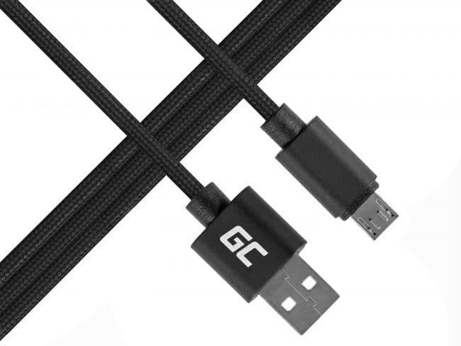 Cabo micro USB Nylon 100cm